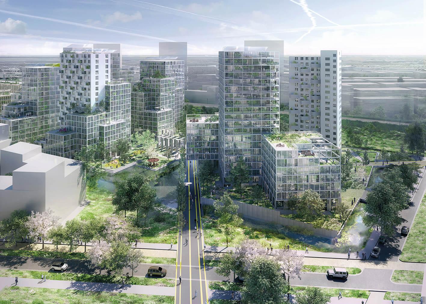 Amstel cluster van project Bajes Kwartier