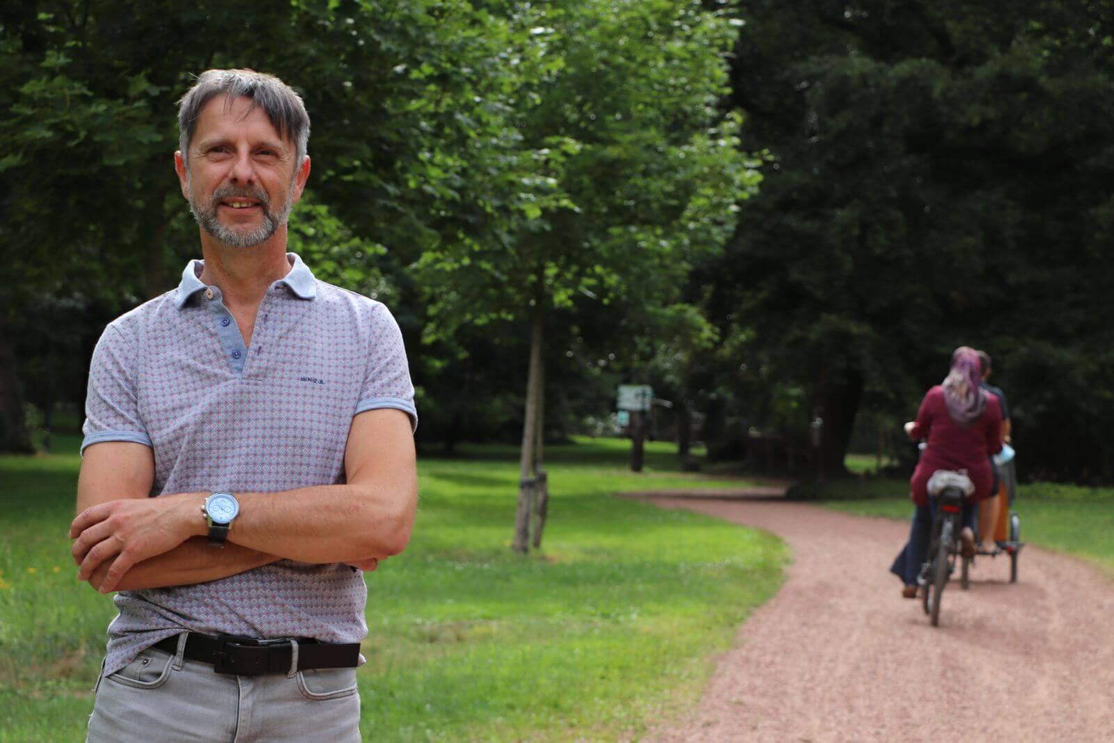 Patrick Everaerts, landschapsarchitect stad Beringen