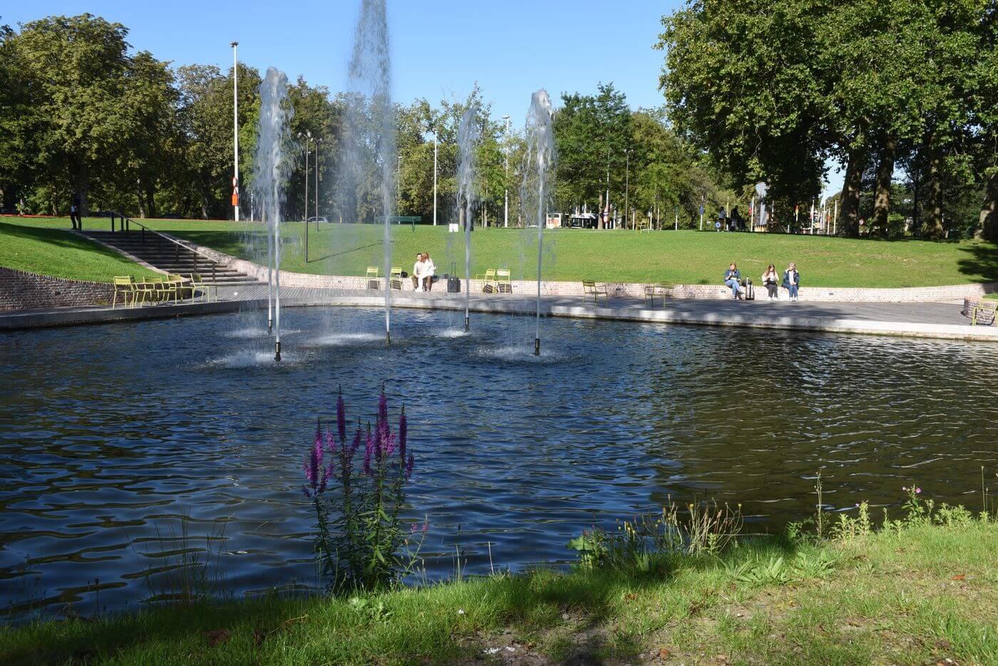 Koning Albertpark in Brugge