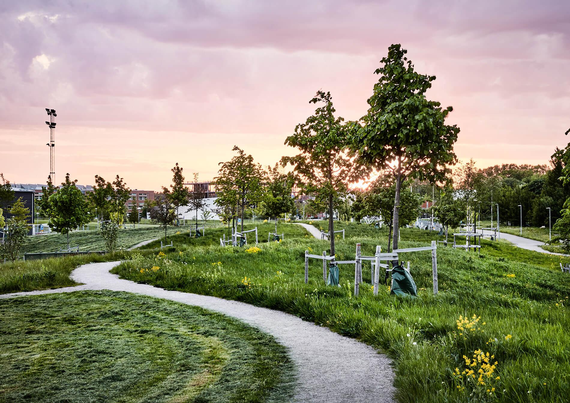 Vallastaden, vinnare landskapsarkitektur pris