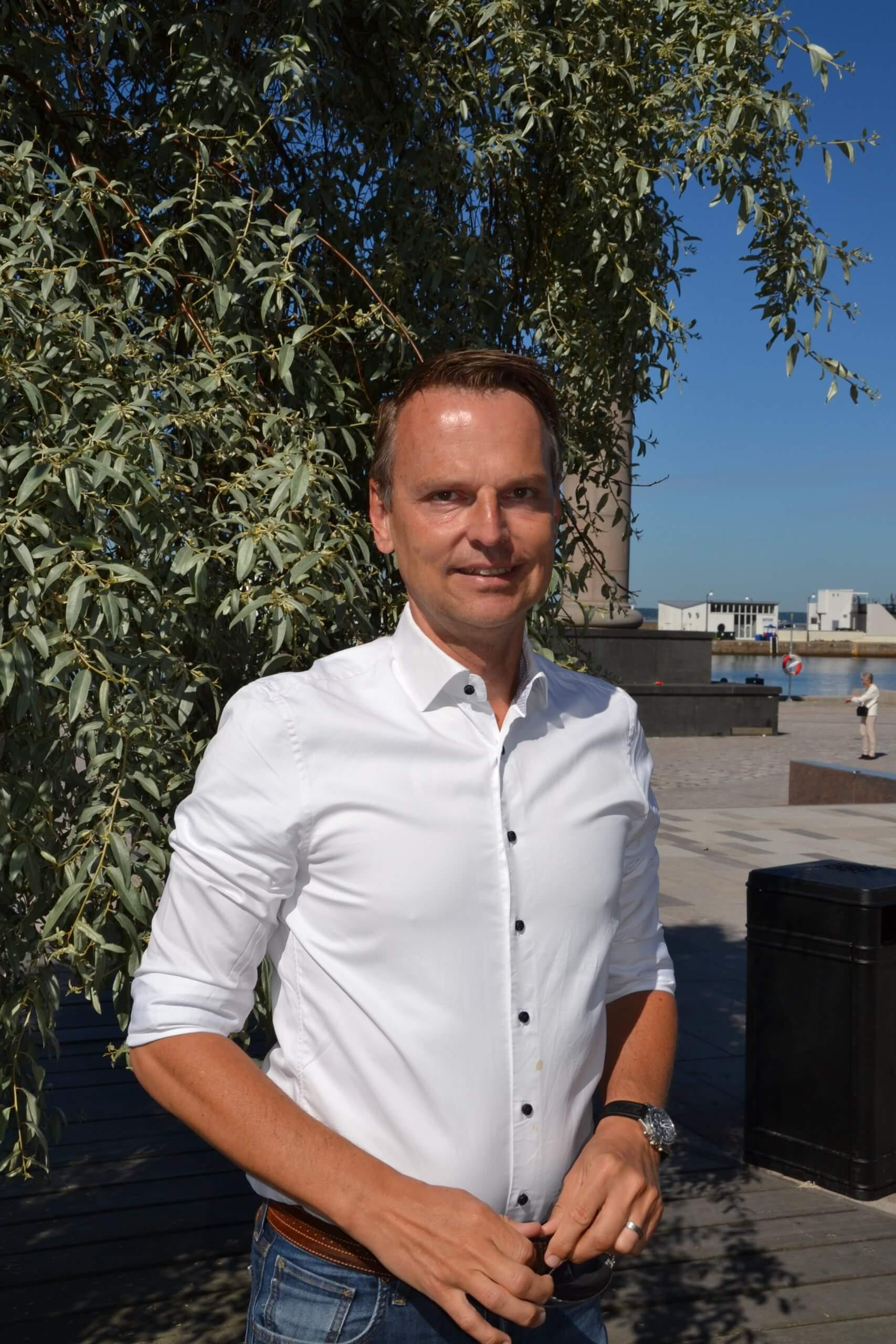 Peter Danielsson mayor of Helsingborg