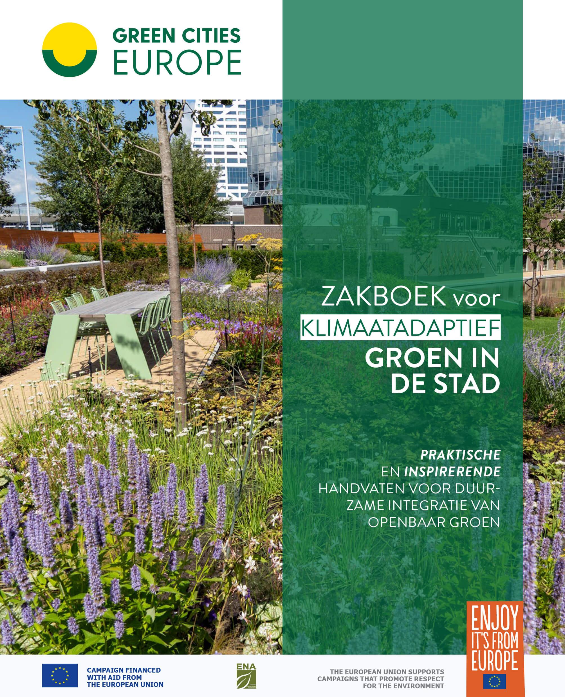 Cover Zakboek voor klimaatadaptief groen in de stad